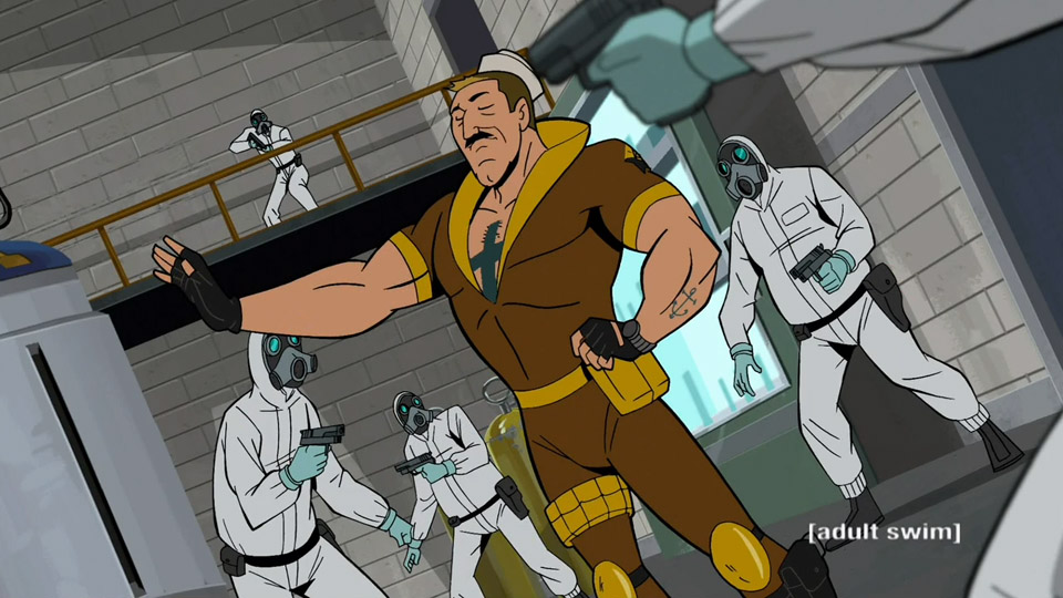 Venture bros shore leave