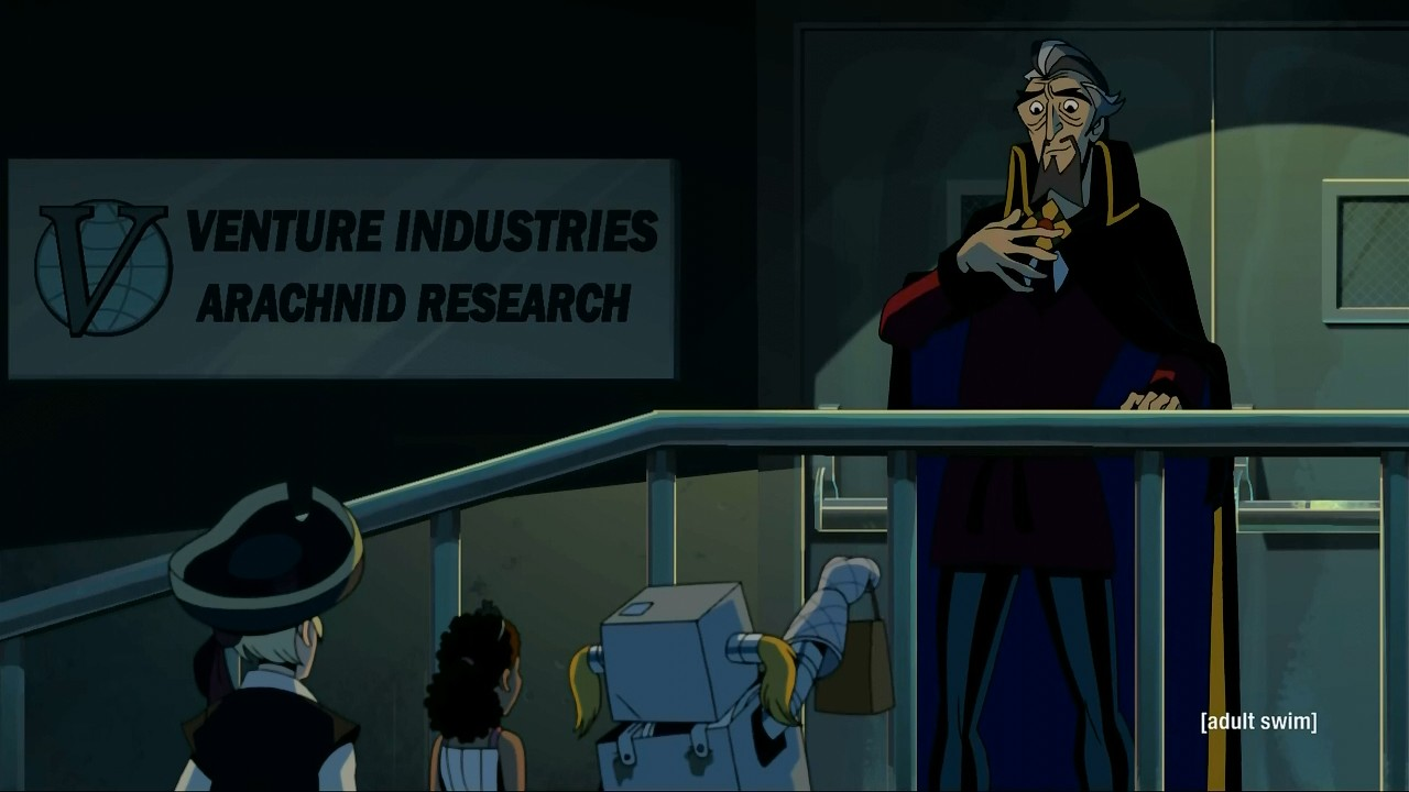 A Very Venture Halloween - Venture Bros. Episodes - The Mantis-Eye ...