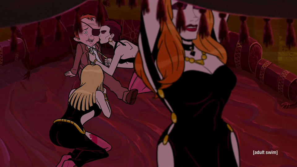 Venture brothers sex