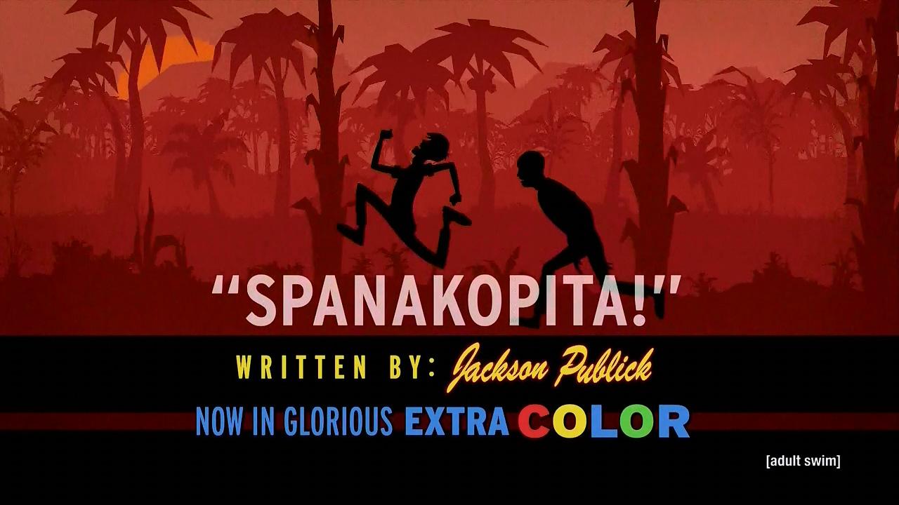 spanakopita venture bros episodes the mantis eye experiment