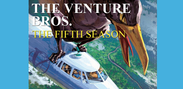 Venture Bros. Season Five DVD/Blu-Ray Revealed!