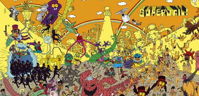 Mantis-Eye SuperJail! Interview With Jackson Publick